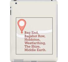 If Middle Earth Had GPS iPad Case/Skin