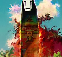 spirited away. no face by ururuty