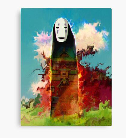 spirited away. no face Canvas Print