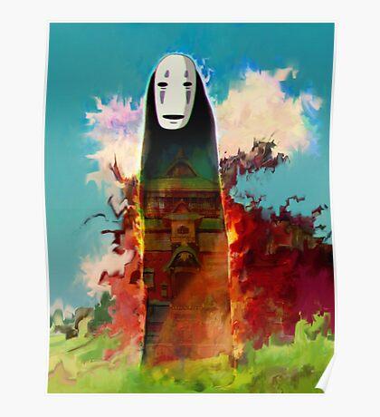 spirited away. no face Poster