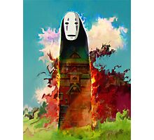 spirited away. no face Photographic Print