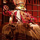 Kathakali Dancer - India by Scootarts