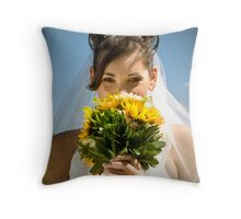 The Big Day Throw Pillow