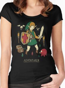 adventurer Women's Fitted Scoop T-Shirt
