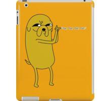 Adventure Jake Pew Pew iPad Case/Skin
