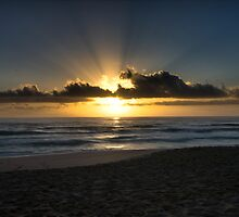 Mollymook Beach Sunrise by Sam Ilic
