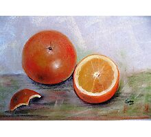 Simple delicious, Pastel painting Photographic Print