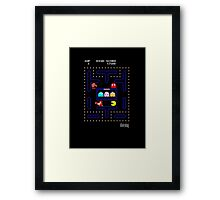 Pac It Ralph Framed Print