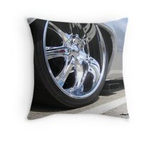 Check Out That Exhaust! Throw Pillow