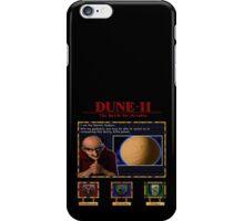 Dune II - Harkonnen Mentat poster iPhone Case/Skin