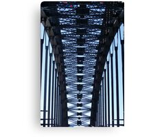 Bridge Vertical Spans Canvas Print