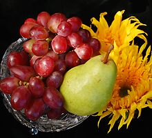 Fruits and flowers by hanne