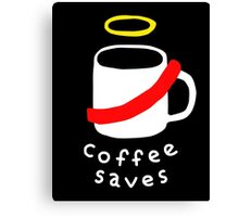 Coffee Jesus Canvas Print