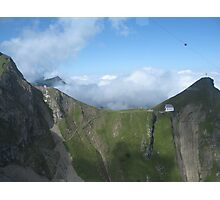 The Church on Mt Pilatus,Switzerland  Photographic Print