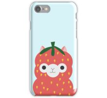 Strawberry Alpaca iPhone Case/Skin