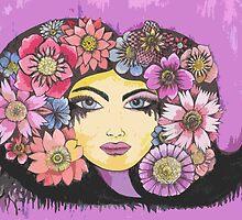 flower girl  by melaniedann