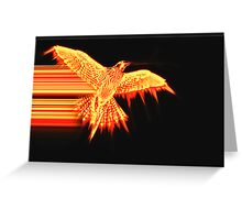 Flight of the Phoenix Greeting Card