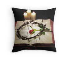 Crown of Thorns 2 Throw Pillow