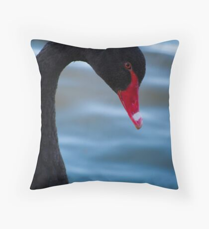 Swan 3 Throw Pillow