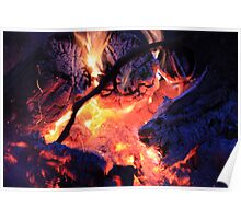 Blue Embers Poster