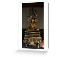 buddha at wat pho Greeting Card