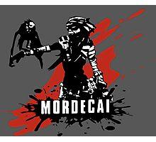 Mordecai (Colored BG) Photographic Print