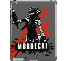 Mordecai (Colored BG) iPad Case/Skin