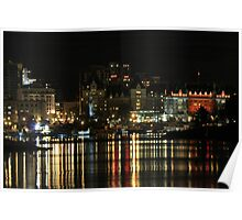 Victoria at Night Poster