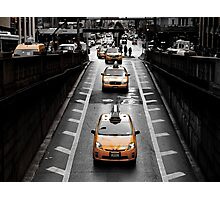 Taxi 8K33 Photographic Print