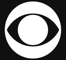 CBS Eye (white) by djpalmer