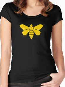 Golden Moth Chemical Women's Fitted Scoop T-Shirt