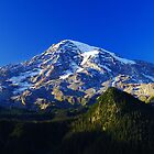 Blue Rainier Panorama by Tori Snow