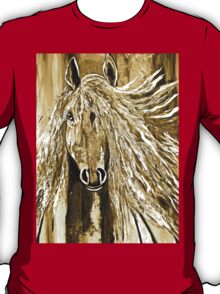 Wild Horse Abstract T-Shirt