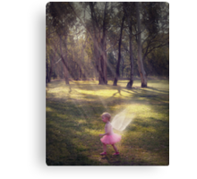 """""""Woodland Angel"""" - A Tribute To Breast Cancer Awareness Canvas Print"""