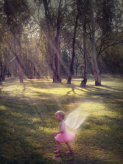 """""""Woodland Angel"""" - A Tribute To Breast Cancer Awareness by StarKatz"""