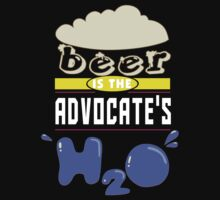 """Beer is the Advocate's H20"" Collection #43005 T-Shirt"