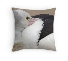Tucked Away Throw Pillow