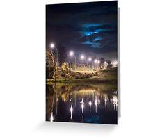 Wairoa River at night 9 Greeting Card