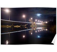 Wairoa River at night 11 Poster