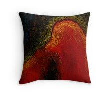 under the volcano....spirit eruption Throw Pillow