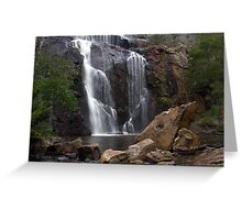 McKenzie Falls Greeting Card