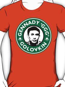 Gennady Golovkin - Starbucks Parody T-Shirt
