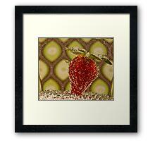 Bubbly Fruit Framed Print