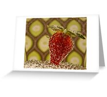 Bubbly Fruit Greeting Card