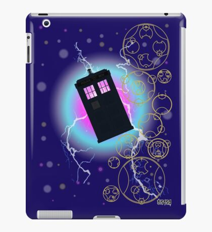 Tardis Leggings iPad Case/Skin