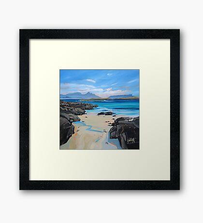 Sanna Bay 2 Framed Print