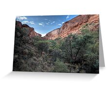 Kings Canyon • Northern Territory Greeting Card