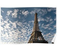 Eiffel Tower at Sunrise Poster