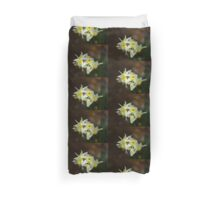 Softly Daffodils Duvet Cover