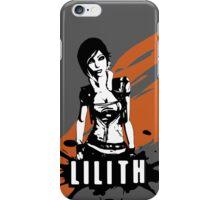 Lilith (Grey) iPhone Case/Skin